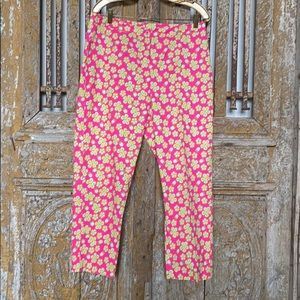LILLY PULITZER CROPPED PANTS 12 EXCELLENT